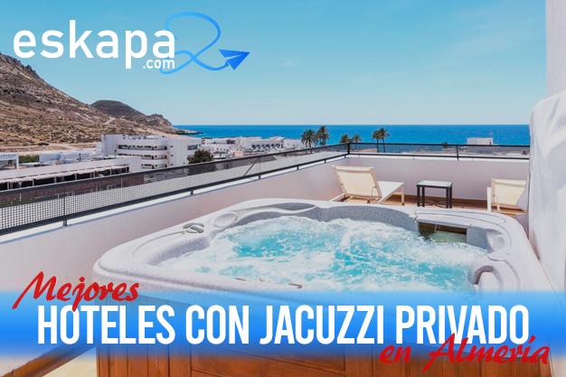 mejores hoteles con jacuzzi en la habitacion almeria