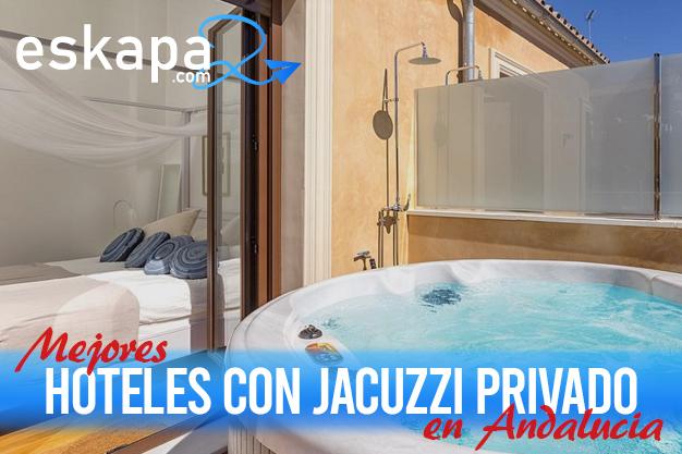 mejores hoteles con jacuzzi en la habitacion andalucia