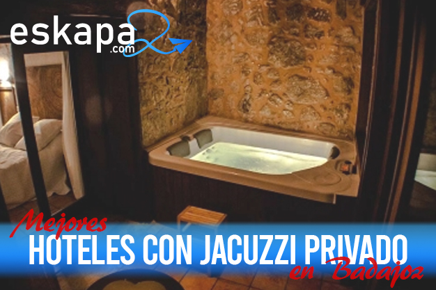 mejores hoteles con jacuzzi en la habitacion badajoz