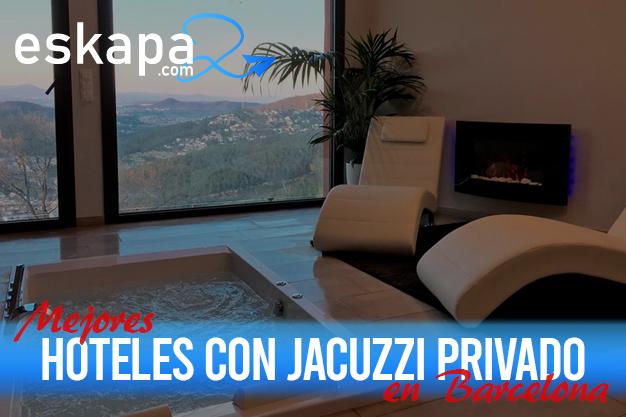mejores hoteles con jacuzzi en la habitacion barcelona