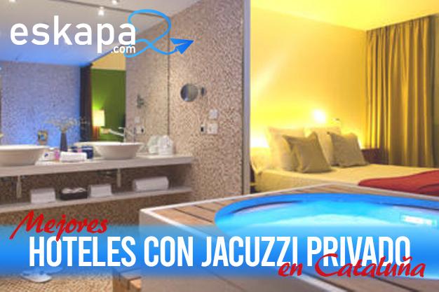 mejores hoteles con jacuzzi en la habitacion cataluna
