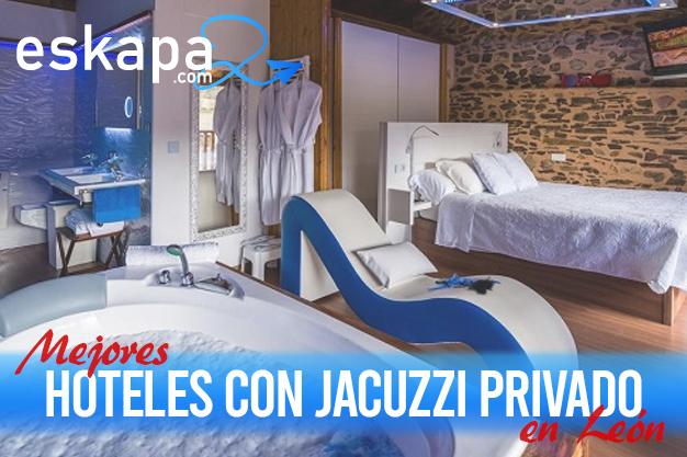 mejores hoteles con jacuzzi en la habitacion leon 1