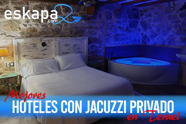 mejores hoteles con jacuzzi en la habitacion teruel
